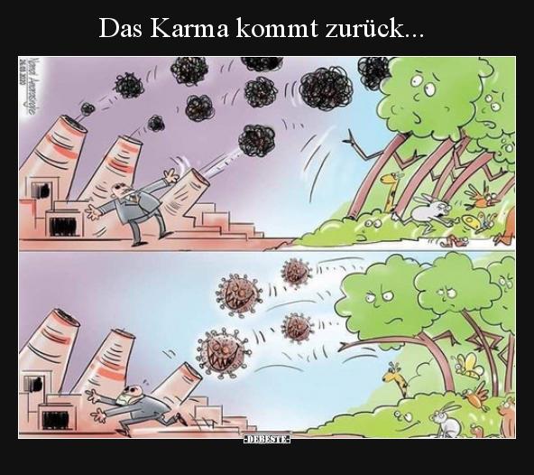 Sprüche zurück karma kommt Karma Sprüche