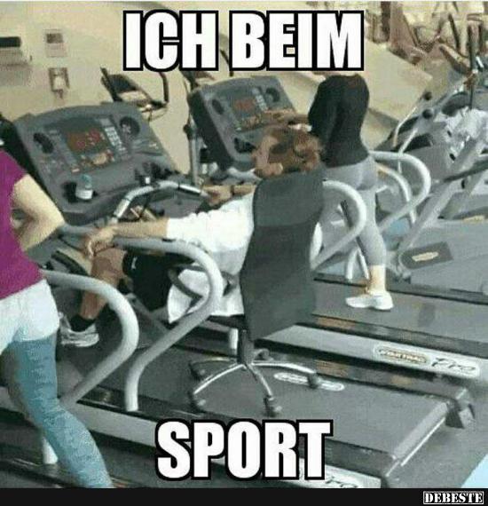 Ich Beim Sport Lustige Bilder Spruche Witze Echt Lustig
