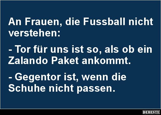 An Frauen Die Fussball Nicht Verstehen Lustige Bilder