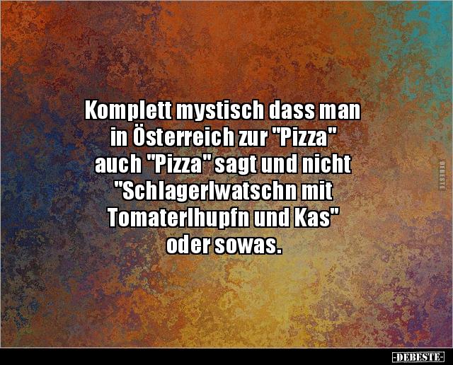 Witze pizza 92+ Pizza