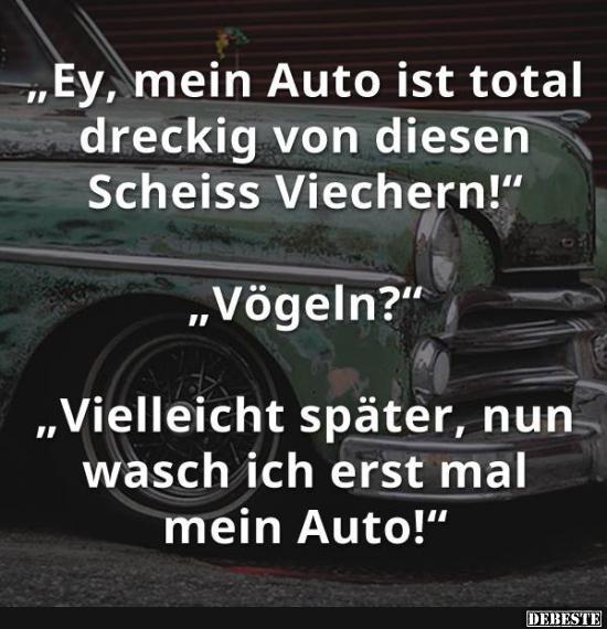 Ey Mein Auto Ist Total Dreckig Von Diesen Lustige Bilder