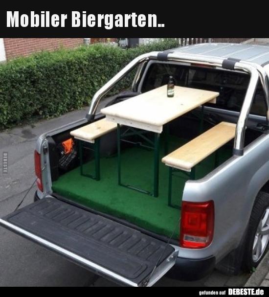 Mobiler Biergarten Lustige Bilder Sprche Witze