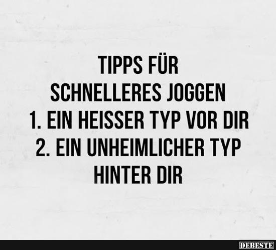 Tipps Fur Schnelleres Joggen Lustige Bilder Spruche Witze