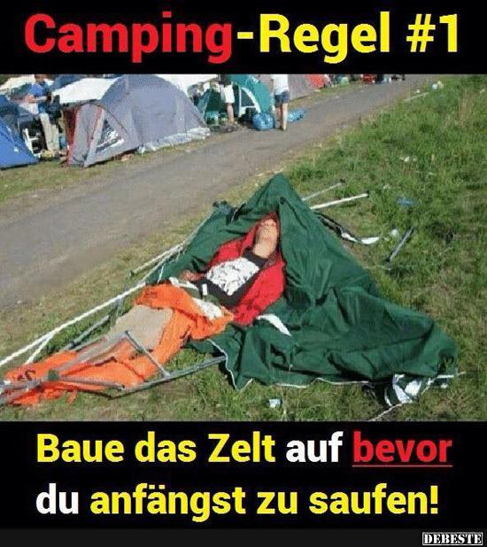 Camping Regel 1 Lustige Bilder Spruche Witze Echt Lustig