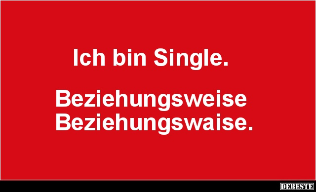 Ich Bin Single.