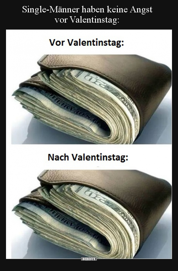 Single Manner Haben Keine Angst Vor Valentinstag Lustige Bilder