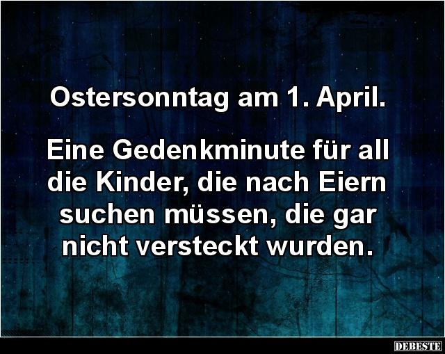 Ostersonntag Am 1 April Lustige Bilder Spruche Witze Echt Lustig