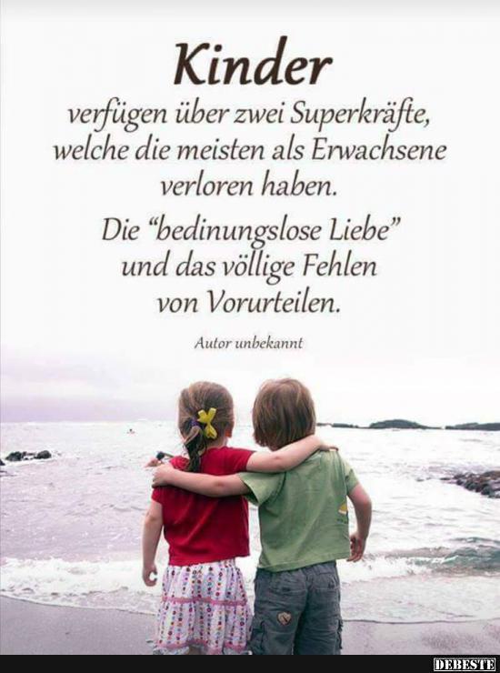 Kinder verfügen über zwei Superkräfte.. | Lustige Bilder ...