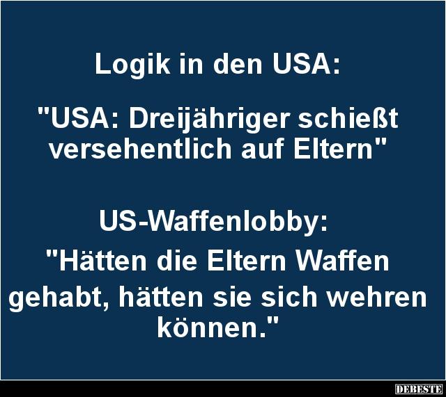 Logik in den USA | Lus...