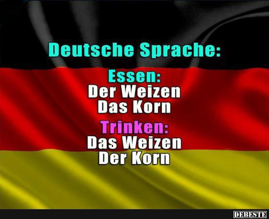 Deutsche Sprache.. | Lustige Bilder, Sprüche, Witze, echt
