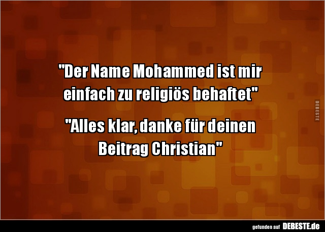 Mohammed witze