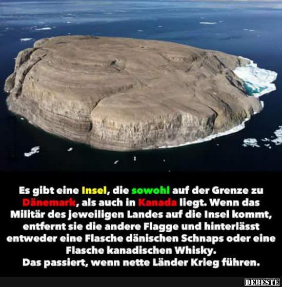 Insel Kanada Dänemark